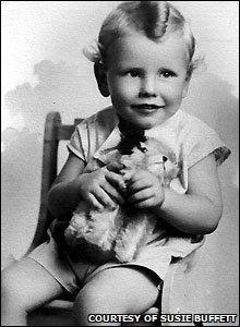 Warren Buffett was born on 30 August 1930 in Omaha