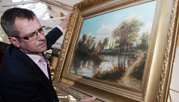 Early Paul Cezanne Worth £40 Million (3)