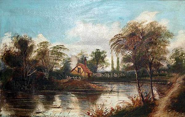 Early Paul Cezanne Worth £40 Million (2)