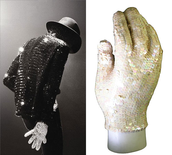 Michael Jackson's white sequin glove