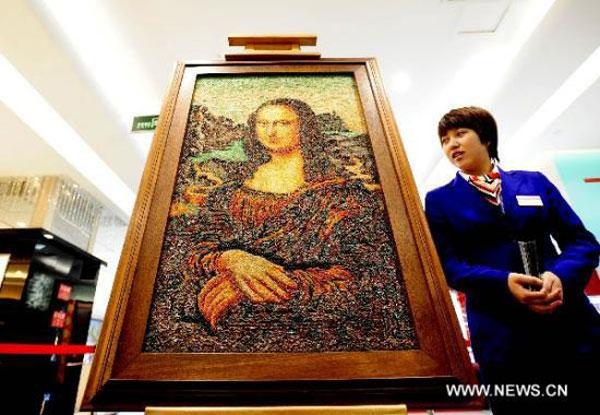 Most Expensive Replica of Mona Lisa Flaunts 100,000 Carats (4)