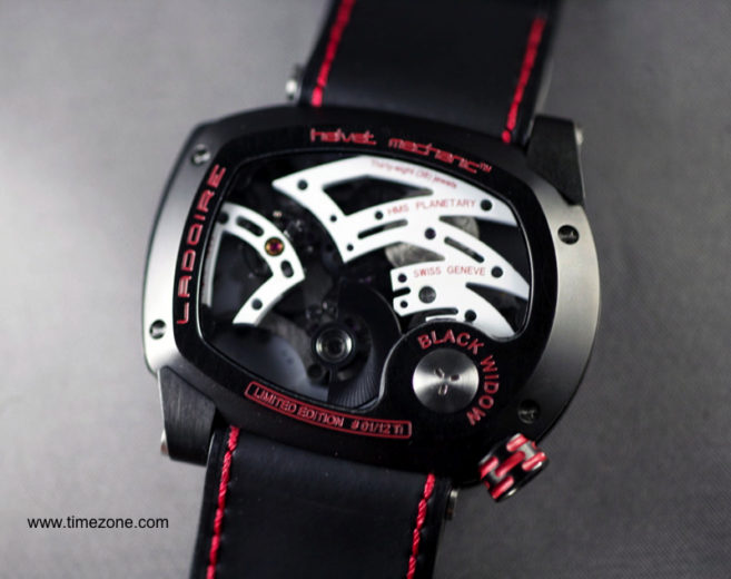 The New Black Widow Mr. Race Watch from Ladoire Geneve (5)