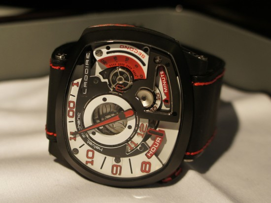 The New Black Widow Mr. Race Watch from Ladoire Geneve (3)