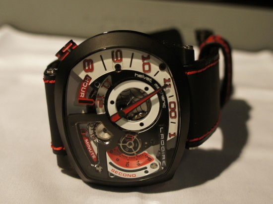 The New Black Widow Mr. Race Watch from Ladoire Geneve (2)