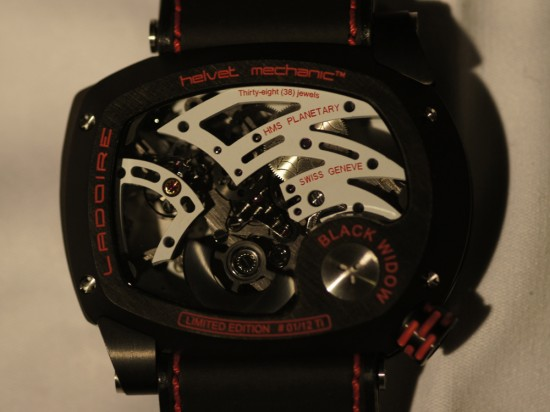 The New Black Widow Mr. Race Watch from Ladoire Geneve (1)