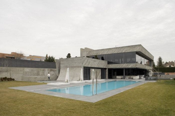 Open Box House by A-cero (10)
