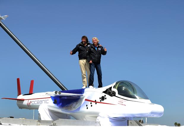 Richard Branson's Virgin Oceanic Submarine for Adventurers