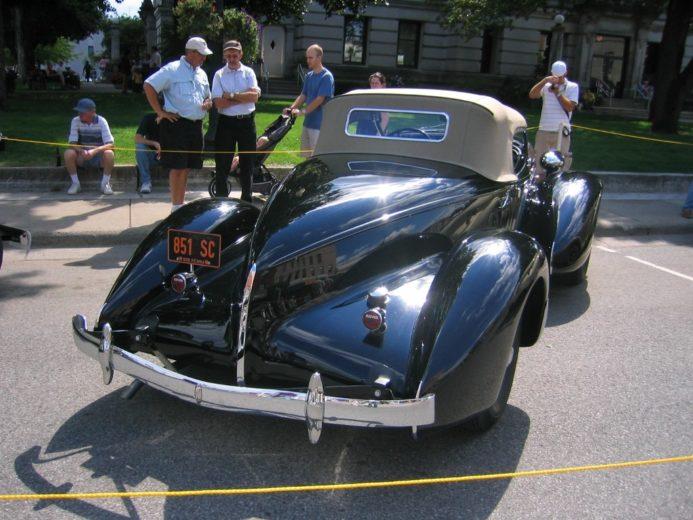 Auburn 851 Boattail Speedster (5)