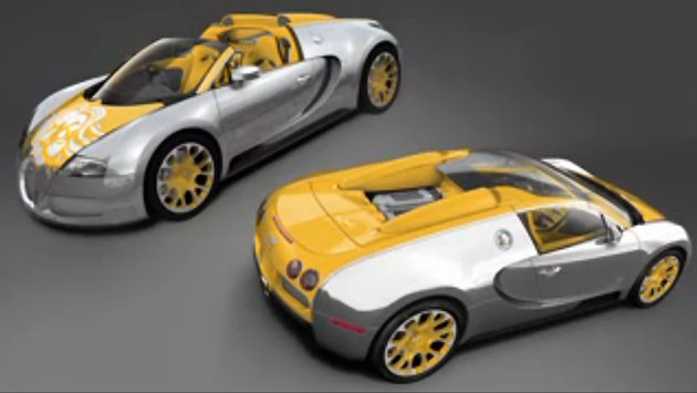 Bijan's Interpretation of the Bugatti Veyron Grand Sport
