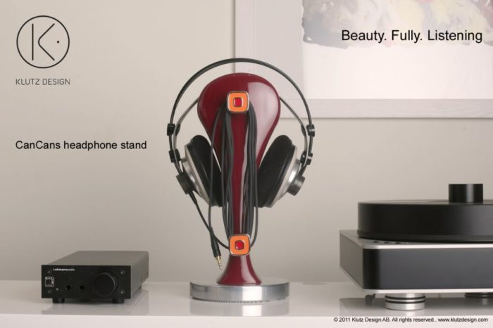 CanCans Luxury Headphone Stand from Klutz Design (8)