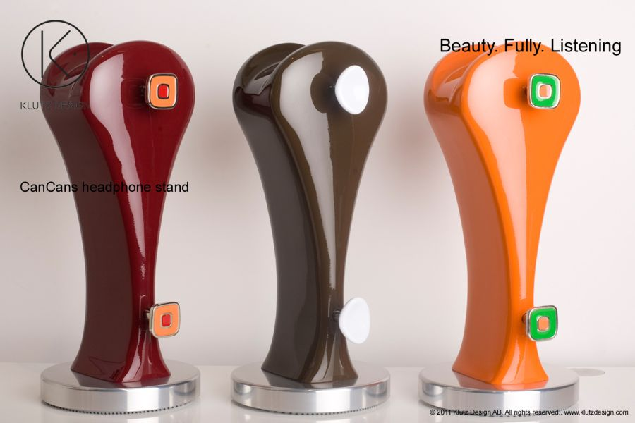 CanCans Luxury Headphone Stand from Klutz Design (1)