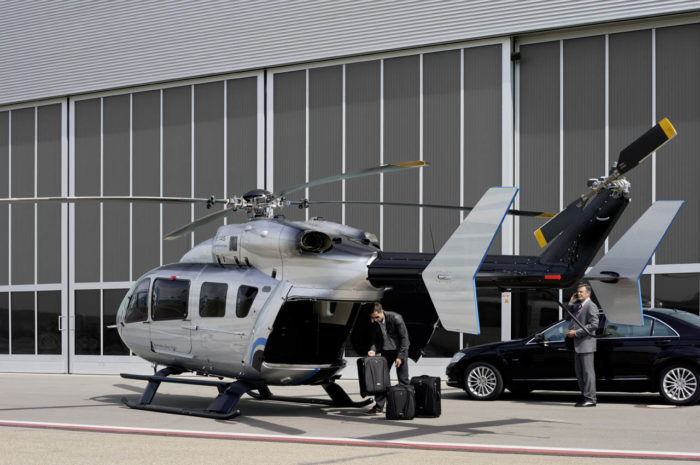 EC145 Mercedes-Benz Style Helicopter (15)