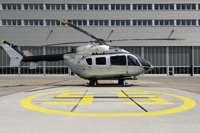 EC145 Mercedes-Benz Style Helicopter (14)