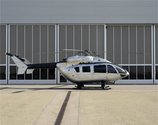 EC145 Mercedes-Benz Style Helicopter (12)