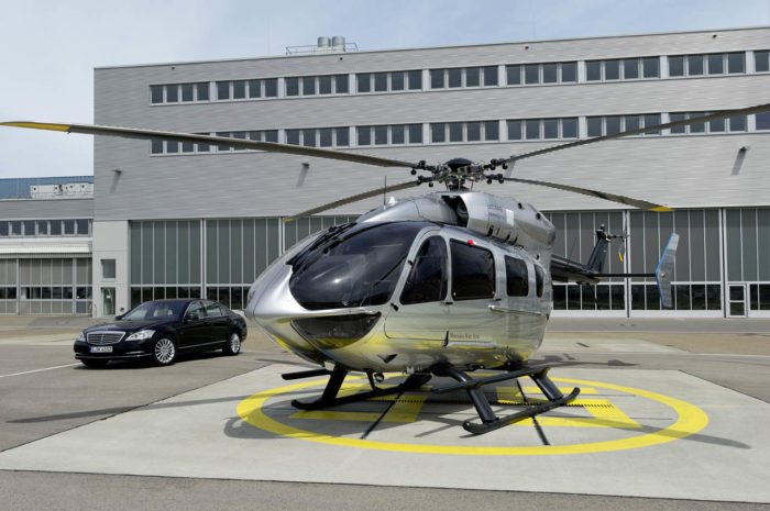 EC145 Mercedes-Benz Style Helicopter (11)