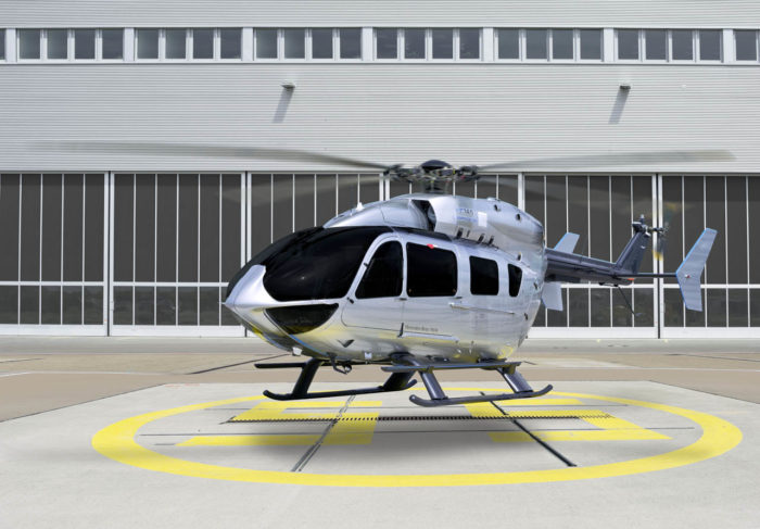 EC145 Mercedes-Benz Style Helicopter (10)