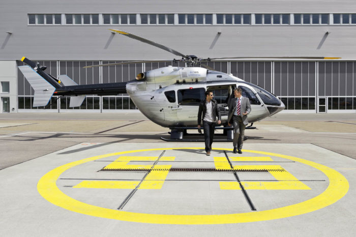 EC145 Mercedes-Benz Style Helicopter (9)