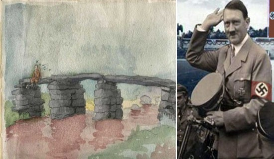 Hitler's paintings