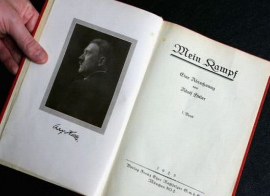 Hitler autographed Mein Kempf