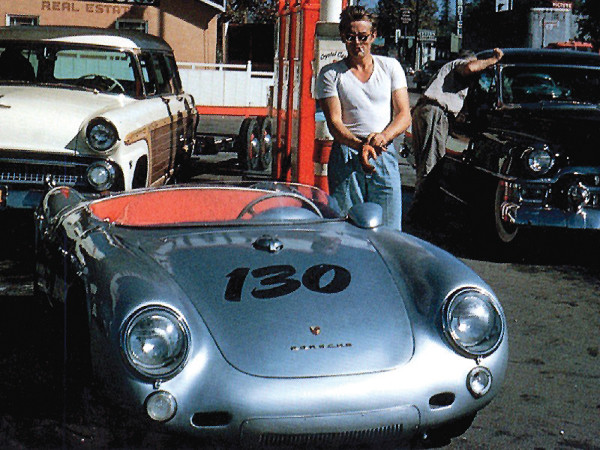 "James Dean's ""Little Bastard"" Porsche 550 Spyder"