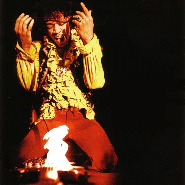 Jimi Hendrix' Blazing Guitar