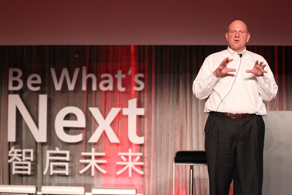 Steve Ballmer – The Effervescent CEO of Microsoft Corporation (14)