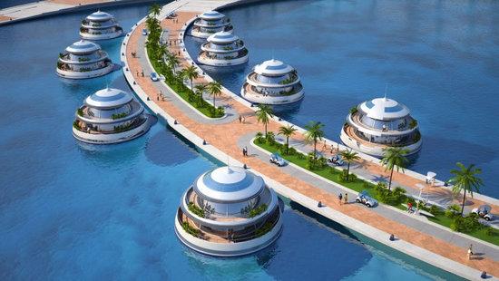 Amphibious 1000 Luxury Resort Project for Qatar (2)