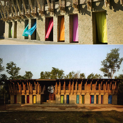 Architecturally Stunning Hand-built School in Bangladesh
