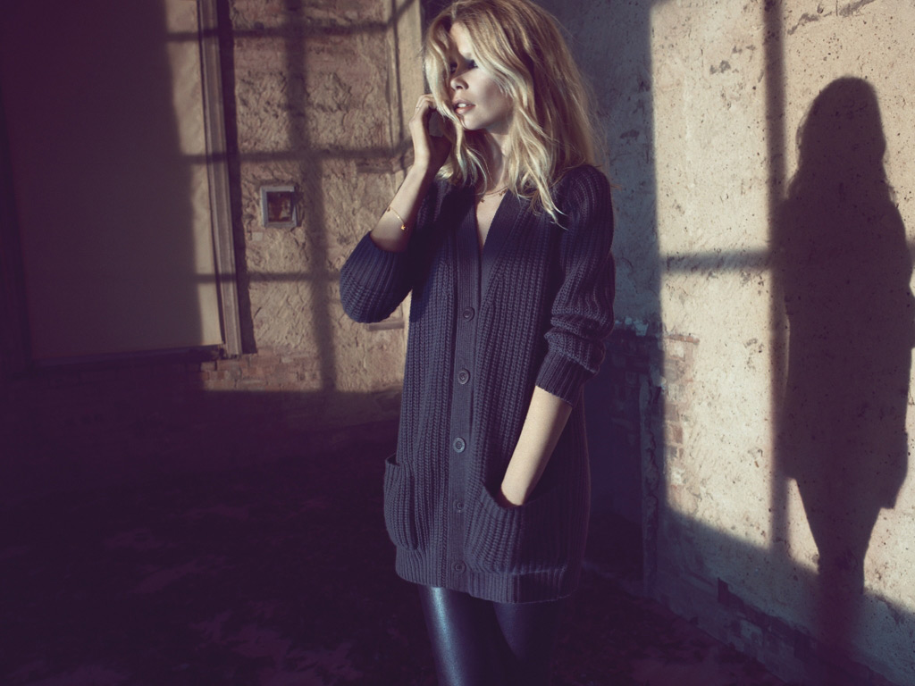 Claudia Schiffer Cashmere Collection for Chic Ladies (9)