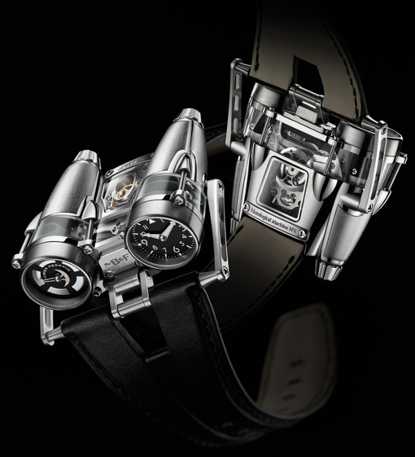 Hand-Made MB&F Thunderbolt Watch