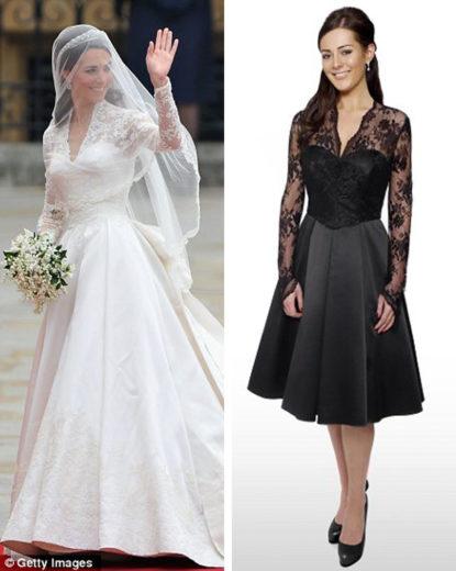 Pippa Middleton Bridesmaid Dress Replica from Debenhams (3)