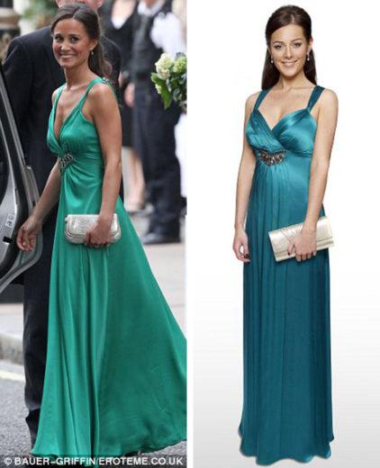 Pippa Middleton Bridesmaid Dress Replica from Debenhams (2)