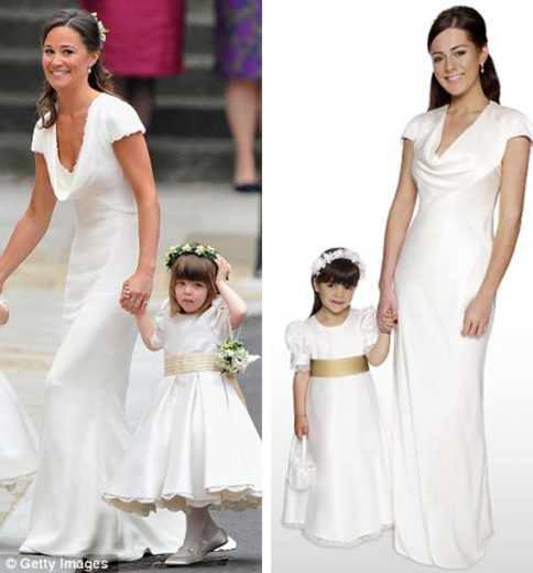 Pippa Middleton Bridesmaid Dress Replica from Debenhams (1)