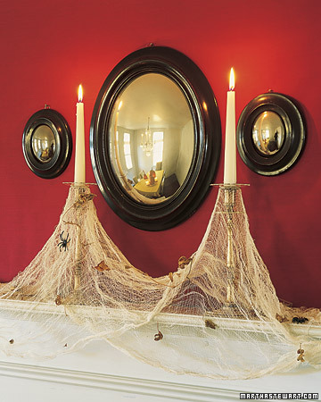 Cobweb Candles