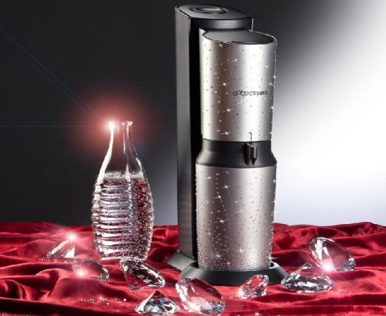 The Crystal Soda Stream in Swarovski Crystals