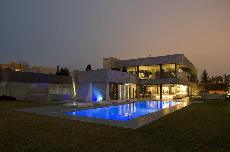 The Spectacular Open Box Residence by A-cero (5)