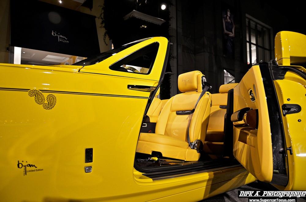 Rolls-Royce Phantom Drophead Coupe by Bijan (11)