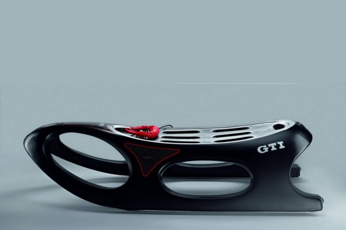 GTI Crazy Bob sled by Volkswagen for Extra Winter Fun