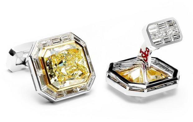 World's Most Expensive Diamond Cufflinks (1)