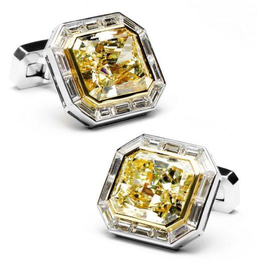 World's Most Expensive Diamond Cufflinks (2)