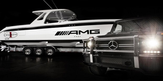 Cigarette Huntress Luxury Boat by Mercedes-Benz (5)