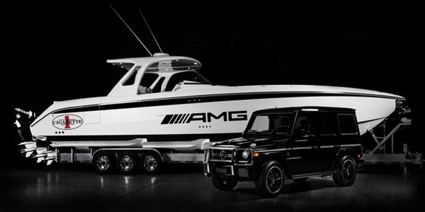 Cigarette Huntress Luxury Boat by Mercedes-Benz (7)