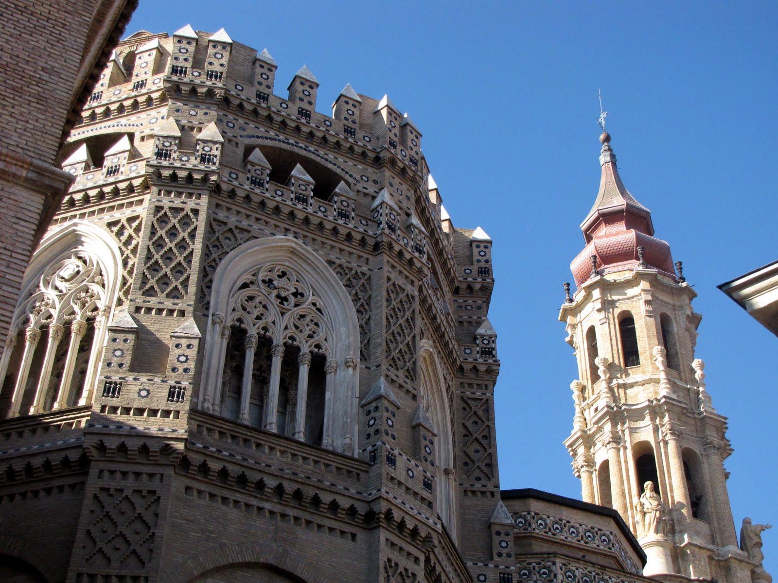 Mesmerizing La Seo Cathedral In Zaragoza, Spain