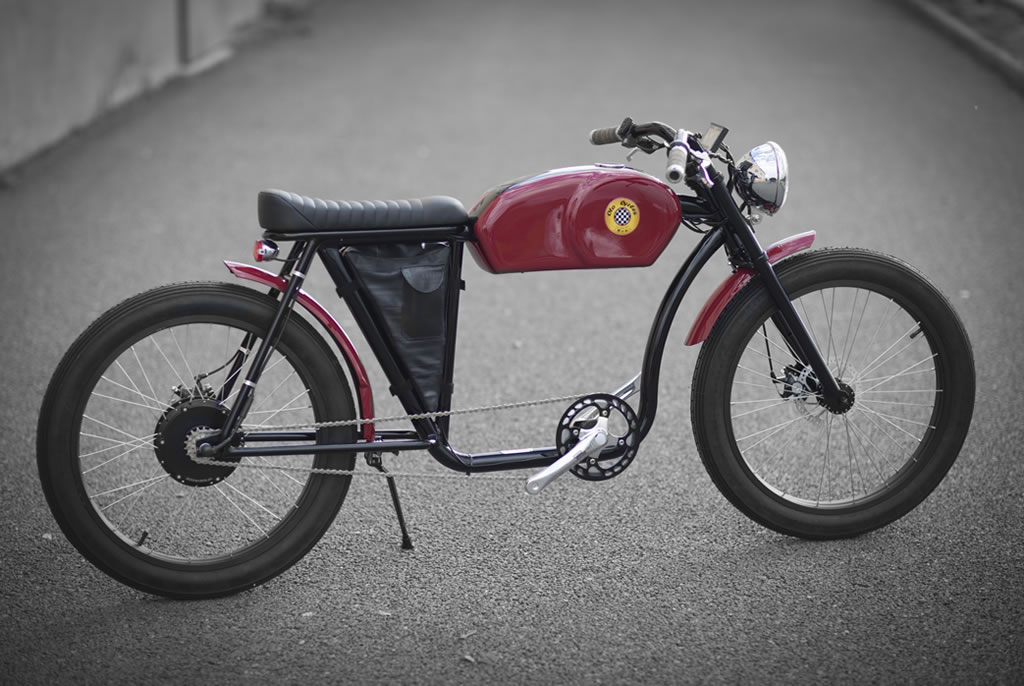 Cafe Racer-Inspired E-Bike By Otocycles (2)