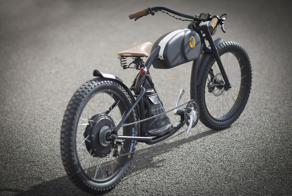 Cafe Racer-Inspired E-Bike By Otocycles (1)