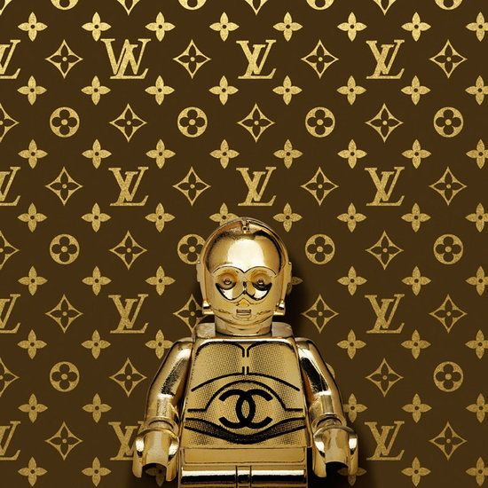 Louis Vuitton and Coco Chanel Themed Lego Star Wars Artwork