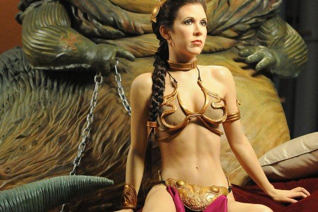 Princess Leia's Gold Bikini