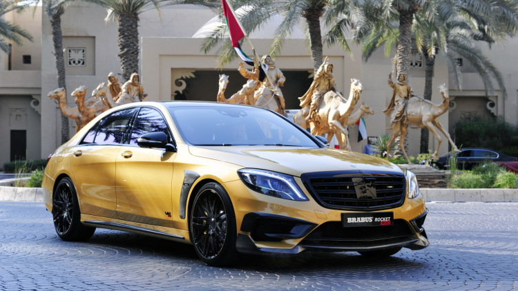 S65 Rocket 900 Desert Gold Edition By Brabus (24)
