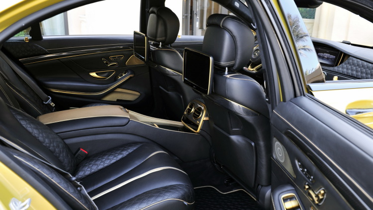 S65 Rocket 900 Desert Gold Edition By Brabus (5)