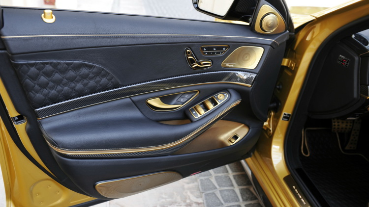 S65 Rocket 900 Desert Gold Edition By Brabus (2)